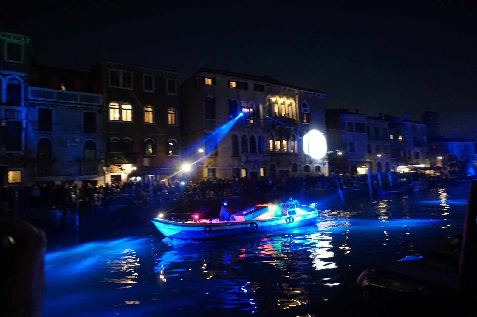 Venedik Festivali'nden Bir Kare