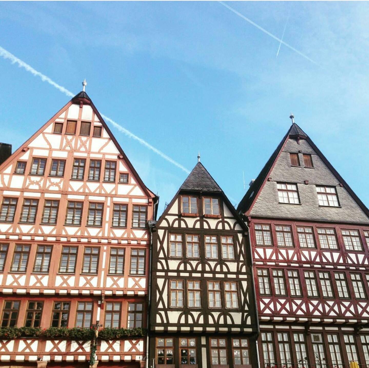 Dom-Römer'in Klasikleşmiş Frankfurt Evleri