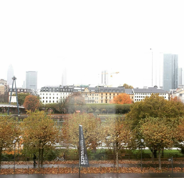 Frankfurt am Main'a adını veren Mainz Nehri