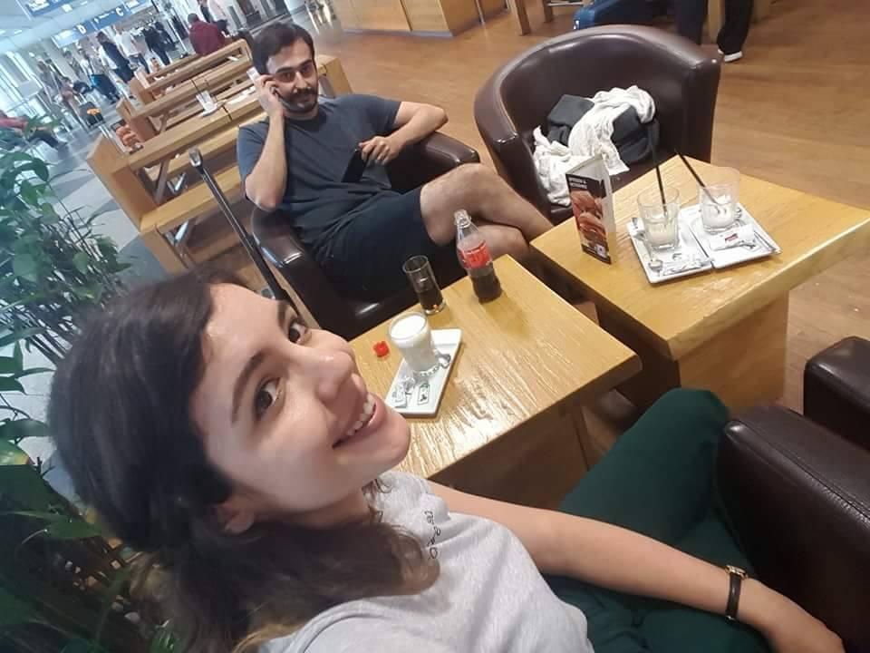 Bir Havaalanı Selfisi