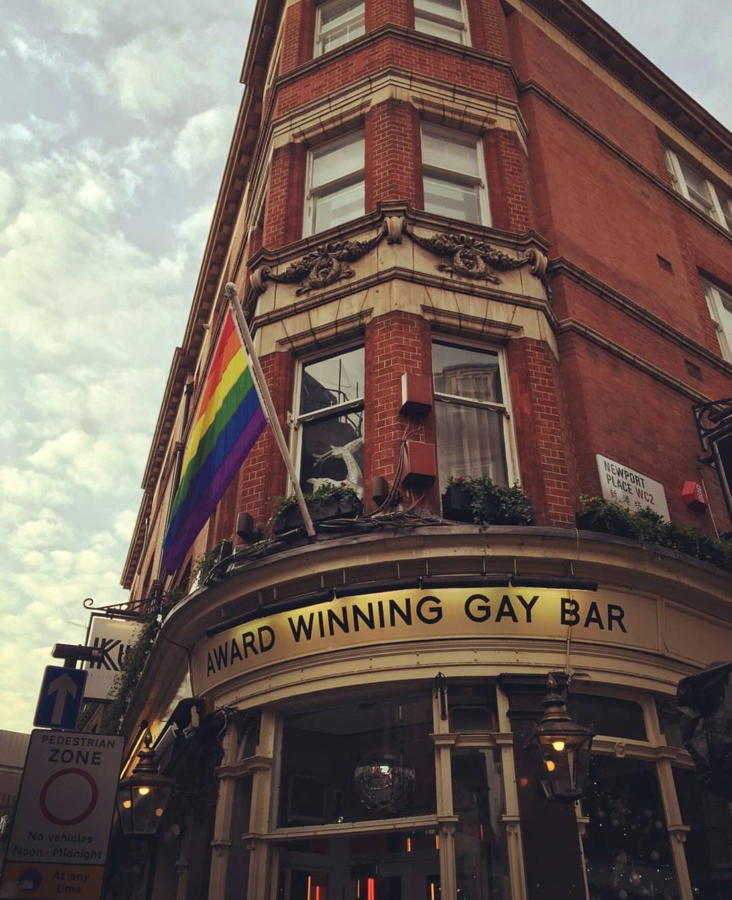 Soho'nun Meşhur Gay Barlarından Birisi