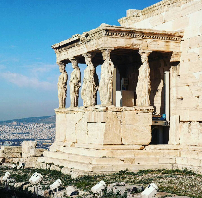 Parthenon Restorasyonda Olunca Biz de Bunu Koyalım Dedik :)