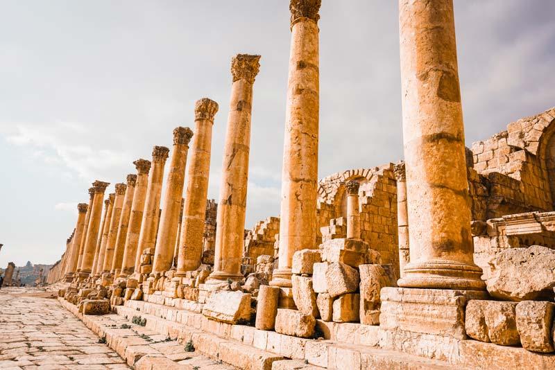 Petra ve Jerash giriş ücretleri