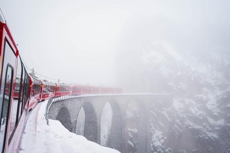 Bernina Express Gezi Notları