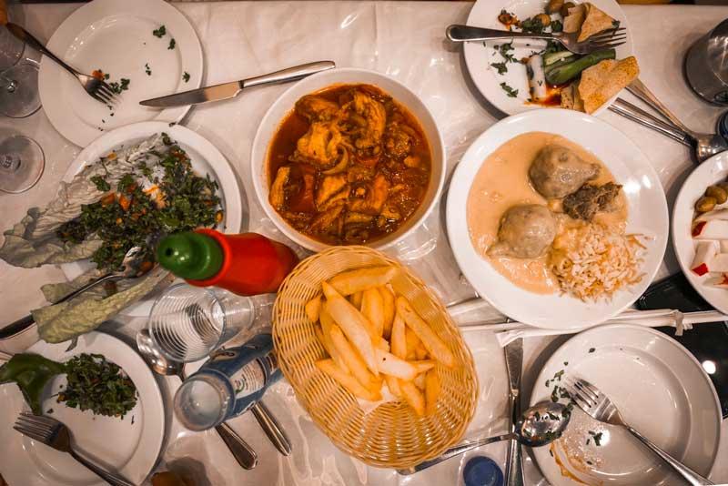 Beyrut yeme içme